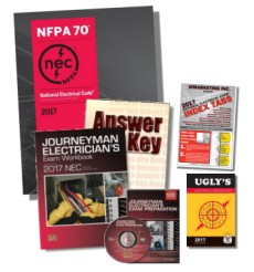 2017 Journeyman Electrician Exam Prep Study Guide Combos