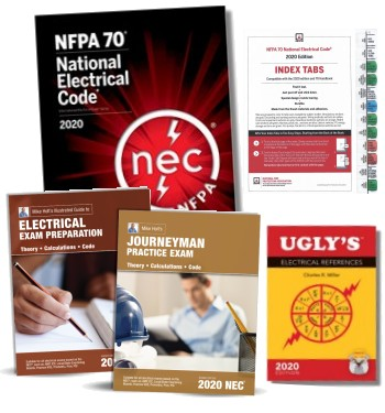 2020 Journeyman Electrician Exam Prep Combo 1
