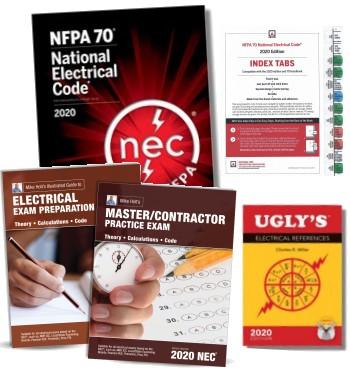 2020 Master Electrician Exam Prep Combo 1