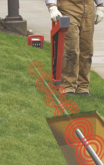 Utility Pipes And Cables : Amprobe at underground cable pipe locator system