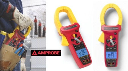 ACD-3300 IND, ACDC-3400 IND CAT IV Industrial True RMS Clamp Meters