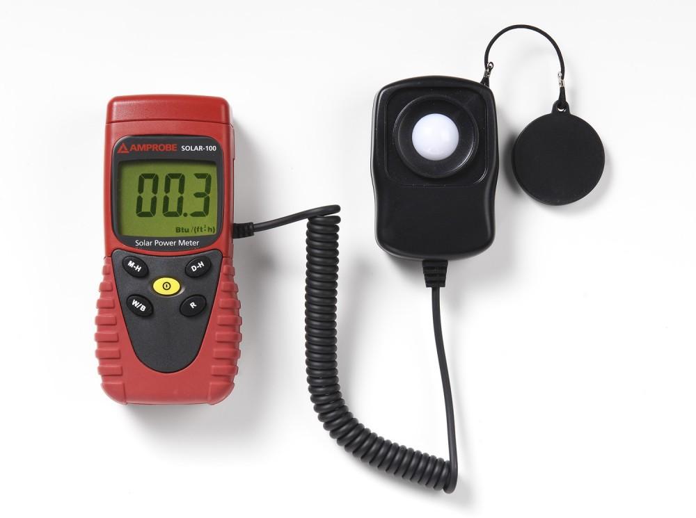 Power Meters For Solar Energy : Amprobe solar power meter