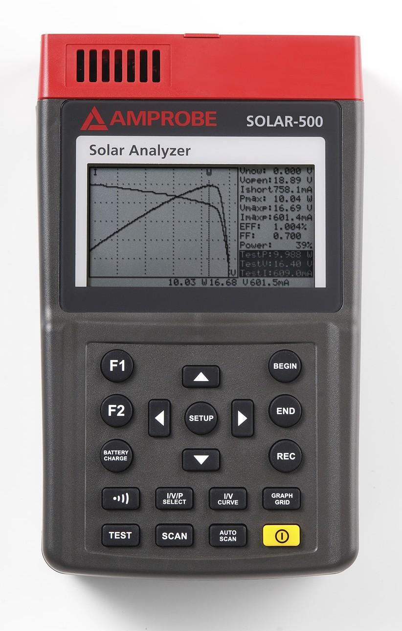 Amprobe Solar 500 Professional Solar Analyzer For