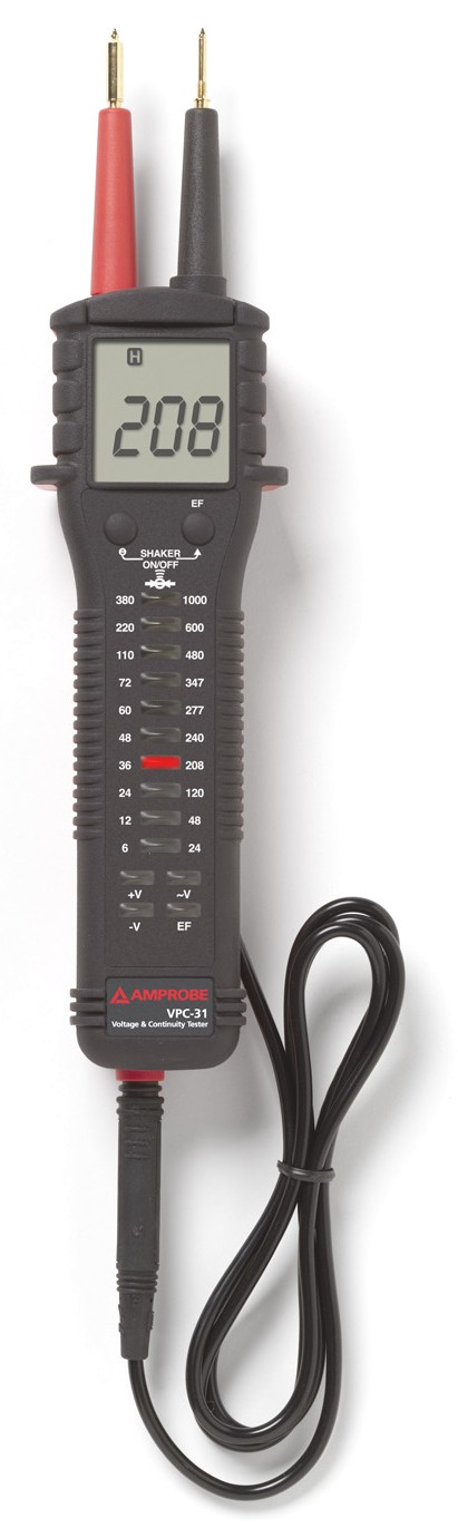 Amprobe Electrical Tester : Amprobe vpc voltage continuity testers with backlit