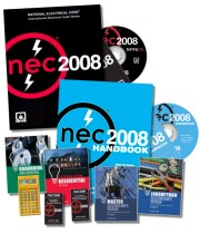 2008 NEC & Related Books, Tabs, CD-ROMs & Exam Prep Study Guides
