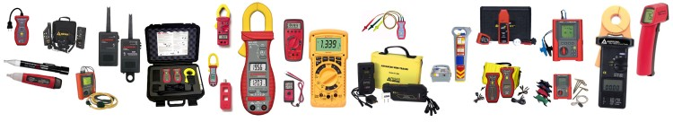 Test Equipment by Amprobe, Ideal, TIF, Zircon & more