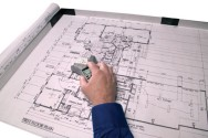 """Measure plans and drawing up to 24"""" x 36"""" in size"""