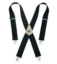 CLC 110BLK Heavy Duty Work Suspenders