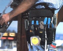 12 Pocket Electricians Tool Pouch Clc 5505