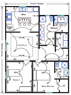 Wondrous Residential Wire Pro Software Draw Detailed Electrical Floor Plans Wiring 101 Capemaxxcnl