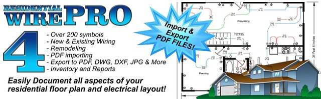 residential wire pro - draw detailed electrical floor plans and more!