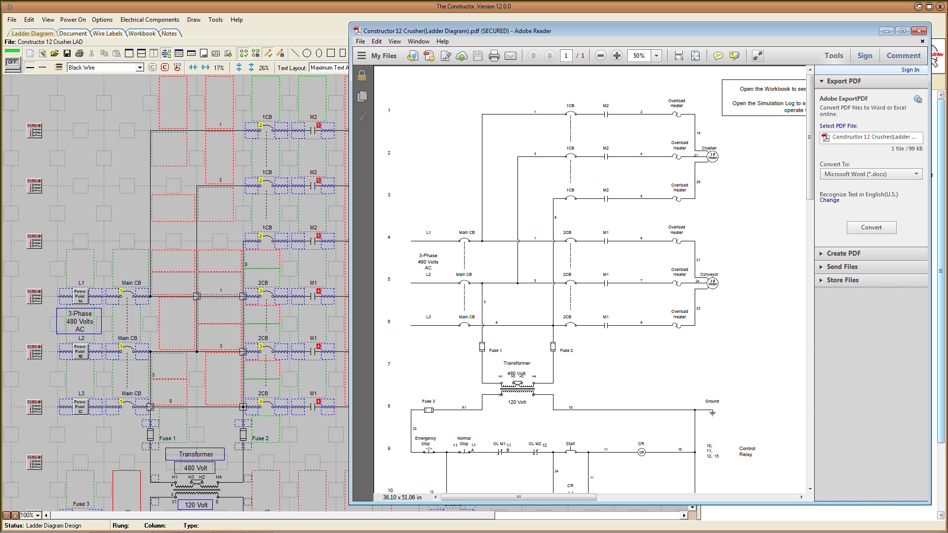 remote starter wiring diagram software the constructor 12 - electrical ladder diagram, schematic ...