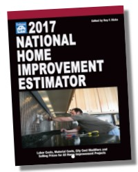 national home improvement estimator 2017 craftsman costbook