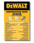 DEWALT Construction Math Check