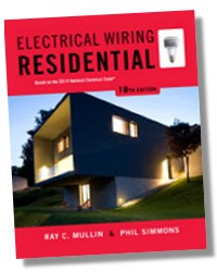 electrical wiring residential 18th edition based on the 2014 nec rh licensedelectrician com residential wiring book 6th residential wiring books free download