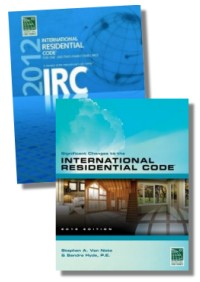 2012 international residential code for one and two family for International residential code irc