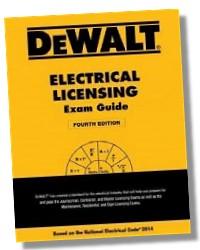 DEWALT 2014 Electrical Licensing Exam Guide