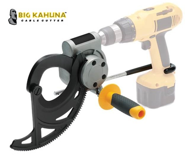 Big Kahuna Drill Powered Cable Cutter - 35-076 - Cuts up to 1250 ...