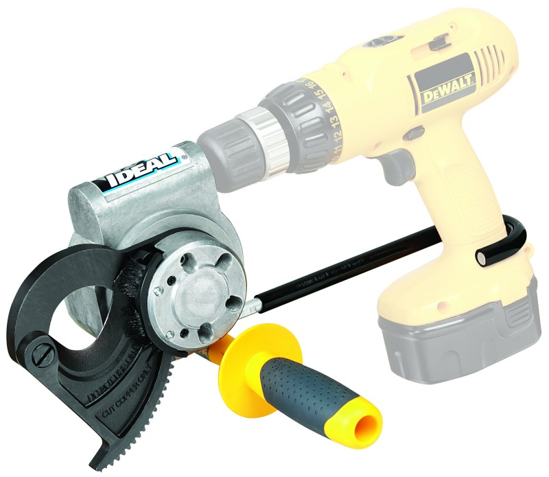 750 Drill-Powered Cable Cutter - Fits almost any drill