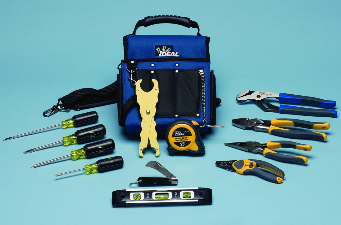 Ideal Electrician's Tool Sets featuring LASERedge Pliers - Made in USA