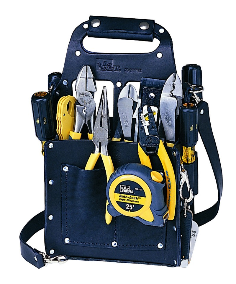 Ideal Electrician S Tool Sets Featuring Laseredge Pliers