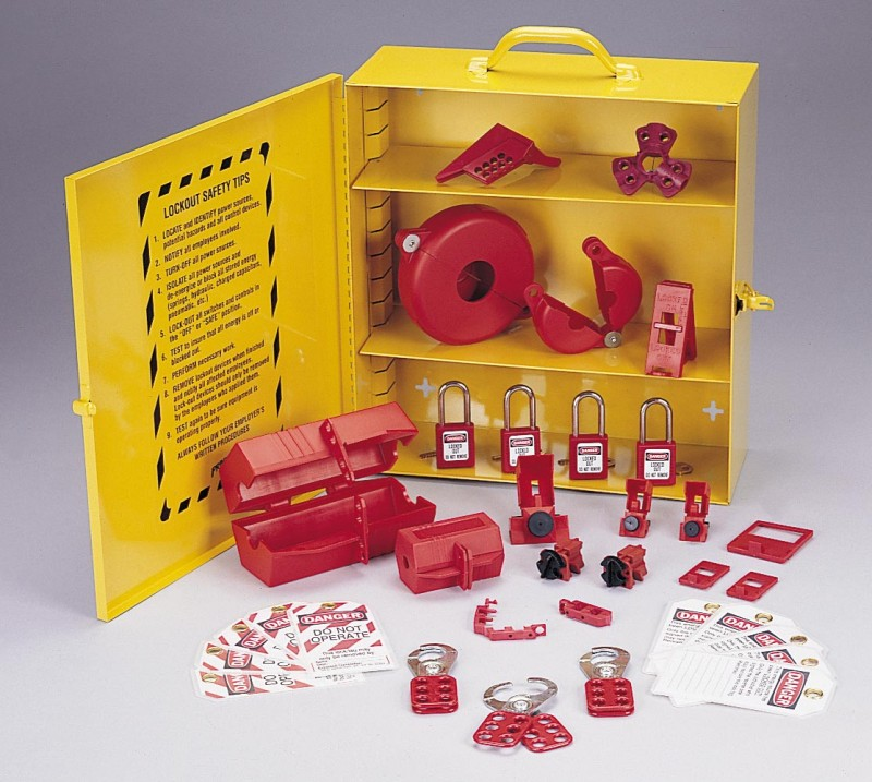 industrial lockouttagout station - Lock Out Tag Out Kits