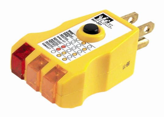 Ideal Voltage Tester Replacement Leads : Gfci receptacle tester ideal