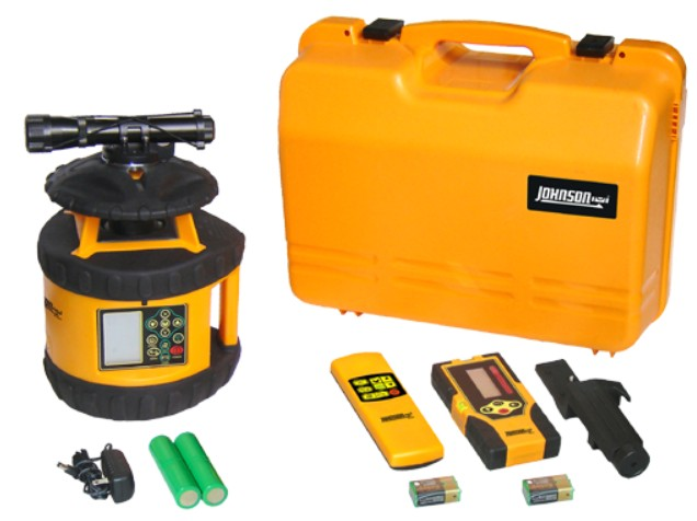 Rotary Laser Level Electronic Self Leveling Dual Grade