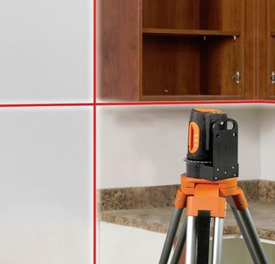 Laser Level For Installing Kitchen Cabinets