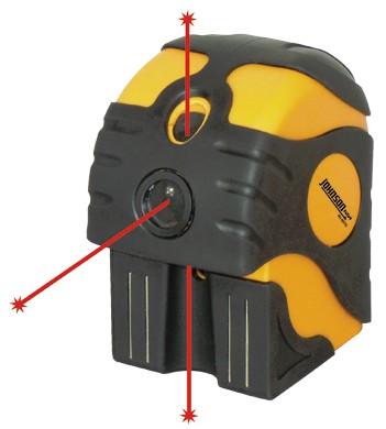 Johnson Self-Leveling 3-Dot Laser Level 40-6675