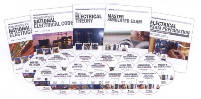 Mike Holt Electrical Training & Exam Preparation Products