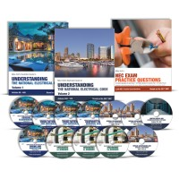 Mike Holt 2017 National Electrical Code Library with DVDs