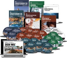Mike Holt's Master/Contractor Comprehensive Library w/DVDs