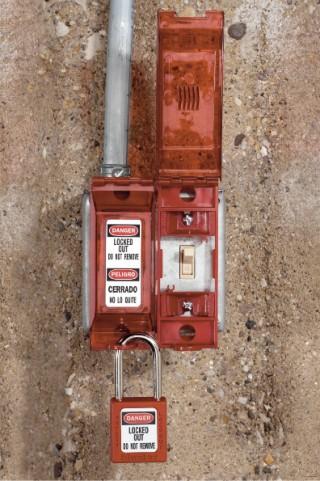 Universal Wall Switch Lockout 496b Locks Out Both Toggle