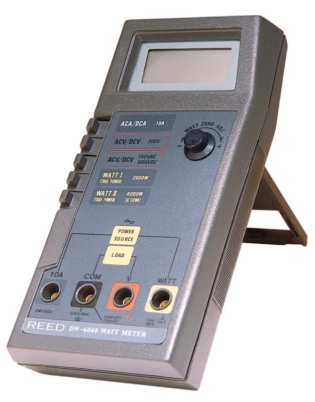 Digital Watt Meter Clamp : Reed dw watt meter digital multimeter