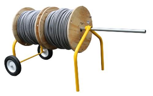 Big E Z Wire Rack Wheeled Wire Dispenser 55632