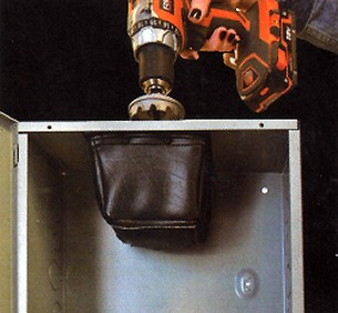 The Dirt Bag Electrical Safety Drilling Tool