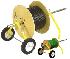 E-Z Roll Wheeled Wire Rack and Dispenser