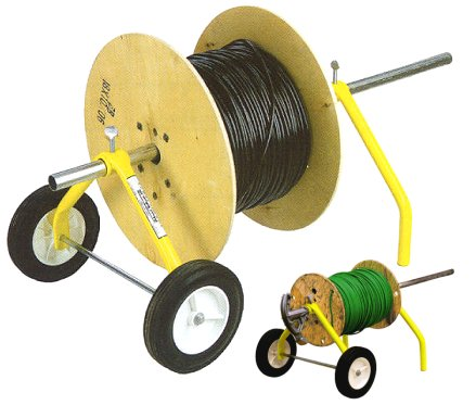 Thomas Wheeler Coil Spinner - The easy-to-hang wire dispenser.