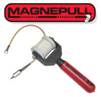Snatch strap wire puller helps you pull more wires with for Magnetic fish tape