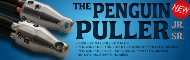 Penguin Puller Jr / Penguin Puller Sr - Cable Pulling Tools