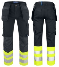 "ProJob Full-Weight High ""Vis"" Multi-Pocket Work Pants"