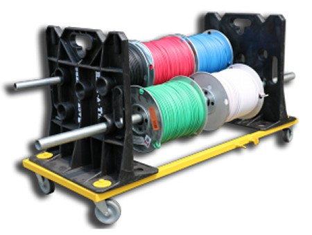 rack-n-go wire dispenser wheel kit