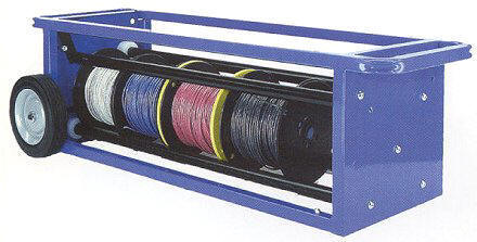 Rack N Roller Wire Cart And Dispenser Transport