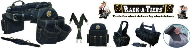 Rackatiers Heavy Duty Tool Belts, Bags & Totes