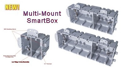 Multi-Mount SmartBox w/ Low Voltage Divider