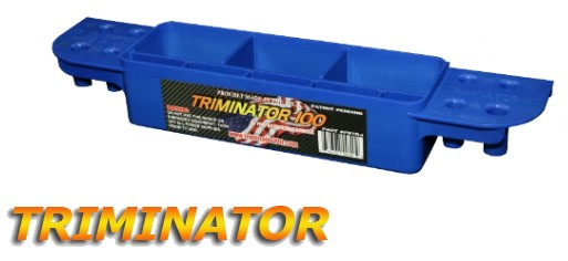 The TRIMINATOR is a unique tools & accessories caddy designed by electricians, for electricians, and low voltage technicians for working on electrical, lighting, and communication panels.