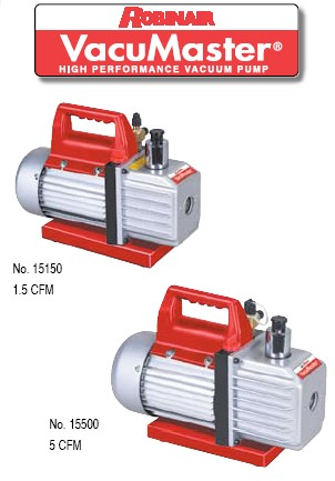 VacuMaster robinair vacumaster economy vacuum pumps Robinair 15500 Parts Breakdown at readyjetset.co