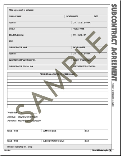 Atlas Construction Business Forms - Save Time And Money With The