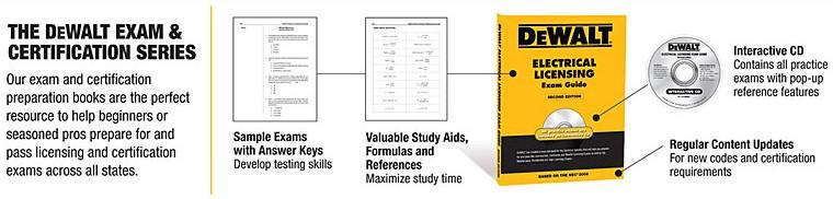 DEWALT Exam and Certification Series